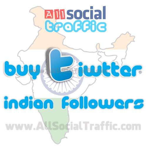 Buy Twitter Followers India